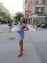 Stacia Datskovska in New York City on July 24, 2019.