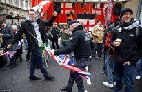 Brexit Day celebrations in Britain